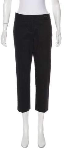 Robert Rodriguez Mid-Rise Straight-Leg Pants