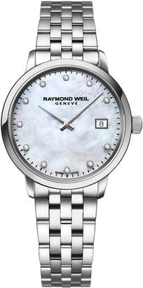 Raymond Weil Toccata Stainless Steel Diamond Bracelet Watch