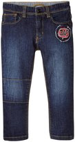 Little Marc Jacobs Trousers With Patches (Baby) - Denim Blue - 18 Months