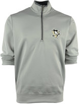 Antigua Men's Pittsburgh Penguins Quarter-Zip Pullover