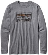 Patagonia Men's Long-Sleeved Spruced '73 Cotton T-Shirt