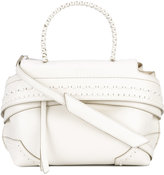 Tod's fold-over closure tote - women - Leather - One Size