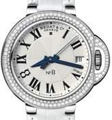 Bedat & Co N_8 Stainless Steel Diamond Bezel 36.5 mm Womens Watch