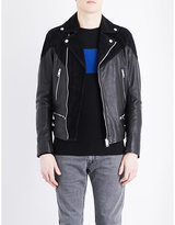 Diesel L-bort Leather Jacket