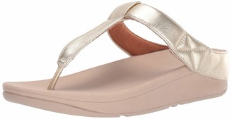 FitFlop Women's MINA Toe-Thongs Sandal