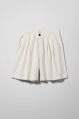 Weekday Erwin Shorts - White