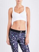 adidas by Stella McCartney CMMTTD X stretch-jersey sports bra