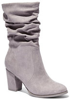 New York & Co. Faux-Suede Scrunch Boot