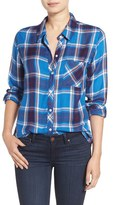 Rails Women's Hunter Button Down Plaid Shirt