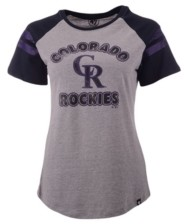 '47 Women's Colorado Rockies Fly Out Raglan T-Shirt