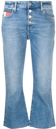 Tommy Jeans Katie mid-rise flared jeans