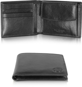 The Bridge Story Uomo Black Leather Wallet w/Coin Pocket