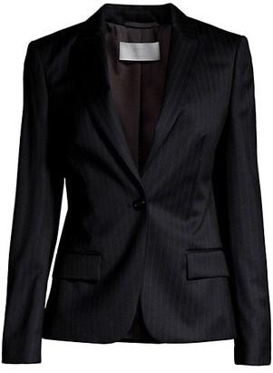 HUGO BOSS Jaxtika Pinstripe Wool-Blend Jacket
