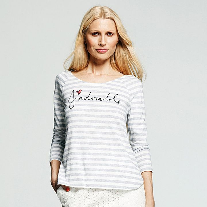 "Peter Som for designation ""j àdorable"" striped tee - women's"