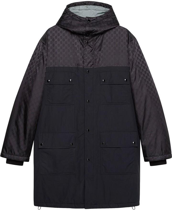 67916cb93 Gucci Mens Gg Nylon Jacket - ShopStyle