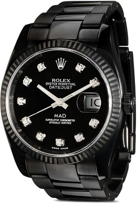 Mad Paris customised Rolex Datejust watch