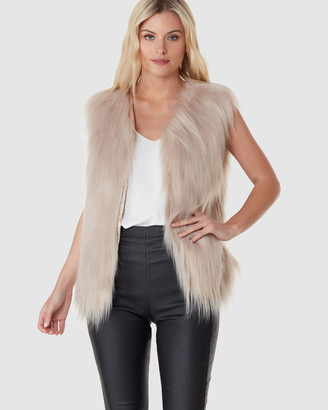 Everly Collective Windsor Faux Fur Vest