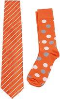 Scott Allan Collection Scott Allan's Men's Necktie and Dress Sock Set