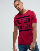 Tommy Hilfiger Denim Large Logo T-shirt