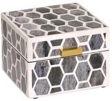 Mela Artisans Gramercy in Ivory/Grey Box 4x4