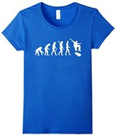 Women's Evolution skateboarding T-Shirt Large