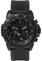 Luminox Navy Seal Colormark 3081.bo Series Carbon-reinforced And Rubber Chronograph Watch - Black