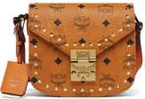 MCM Patricia Studded Outline Shoulder Bag
