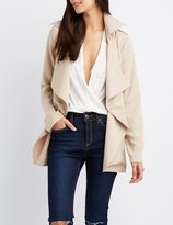 Charlotte Russe Lightweight Belted Trench Coat