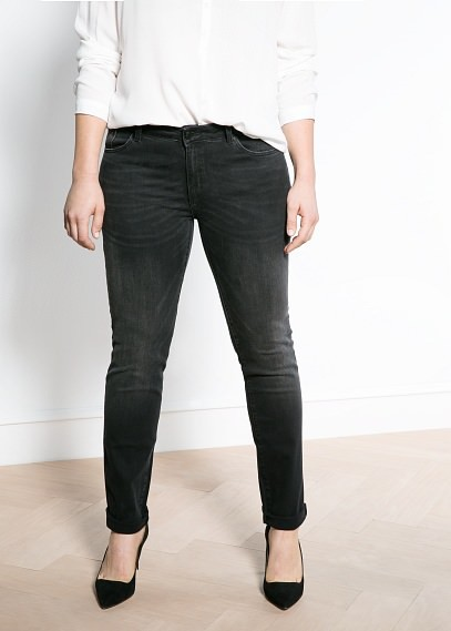 Violeta BY MANGO Slim-Fit Royal Jeans