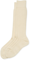 Oscar de la Renta Ribbed Socks