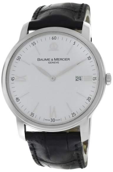 Baume & Mercier Classima 65493 Stainless Steel Quartz 41mm Mens Watch