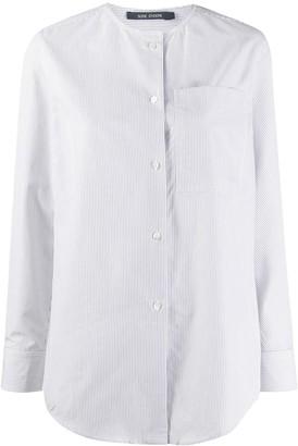Sofie D'hoore Stripe Mandarin Collar Shirt