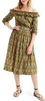 J.Crew Women's Elephant Print Skirt