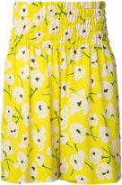 Rochas floral print shorts - women - Silk - 38