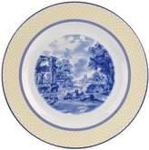 Spode Giallo Round Porcelain Platter