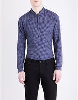 The Kooples Micro-print Cotton Shirt