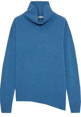 Duffy Asymmetric Cashmere Turtleneck Sweater