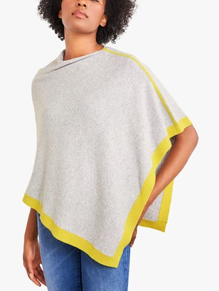 White Stuff Phoebe Wrap Wool Blend Poncho