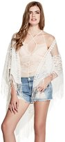GUESS Lace Triangle Scarf
