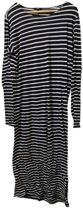 Bassike Black Cotton Dress for Women
