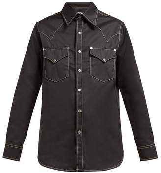 Eytys Sierra Twill Shirt - Womens - Denim
