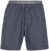 Calvin Klein Men's Double Waistband Swim Shorts Navy