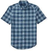 Ralph Lauren Childrenswear Indigo Madras Cotton Shirt