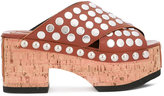 McQ 'Paloma' studded clogs