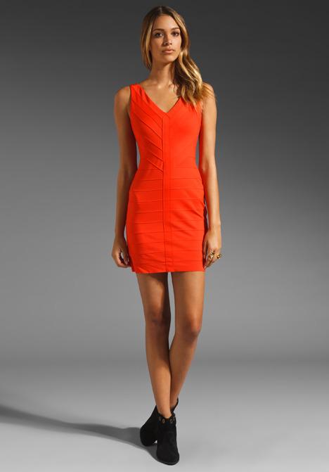 BB Dakota Hudson Ponte Banded Dress