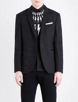 Neil Barrett Camouflage-print slim-fit wool jacket