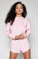KENDALL + KYLIE Kendall & Kylie Babe Cropped Tied Hoodie