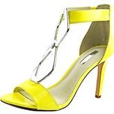 BCBGMAXAZRIA Bcbgeneration Cayce Women Open Toe Patent Leather Sandals.