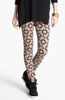 Threads for Thought Geometric Print Leggings (Juniors) (Online Only)