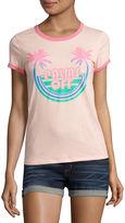 Arizona Palms Off Graphic T-Shirt- Juniors